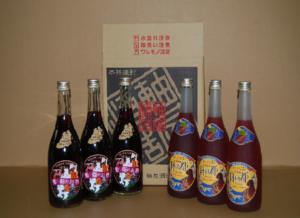 リキュール6本セット シソ・葡萄